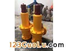 WA42F46-16C-DN100波纹管平衡式衬氟安全阀